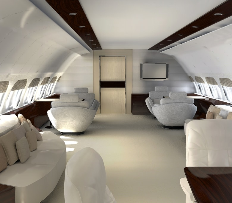 Custom aircraft interior completion