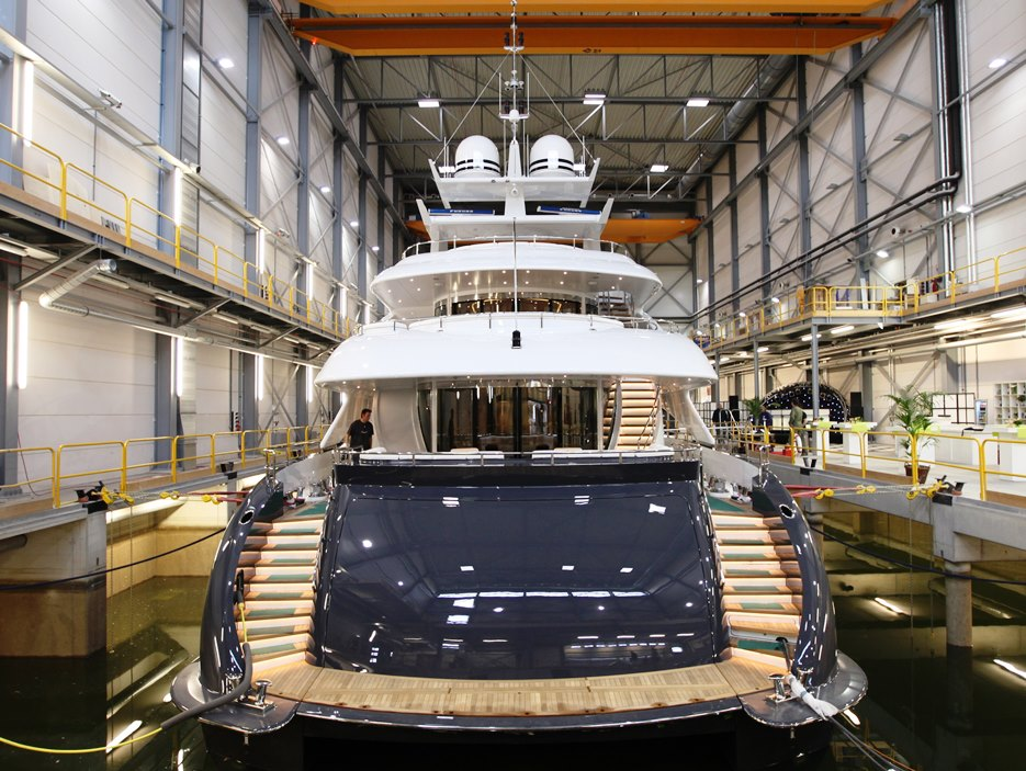 New Superyacht Construction